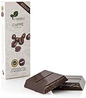 チョカッルーア モディカ チョコレート コーヒー (100g) [イタリア シチリア] | CIOKARRUA MODICA CHOCOLATE IGP | ギフト プレゼント カカオ50% ヴィーガン 板チョコ スイーツ ポリフェノール