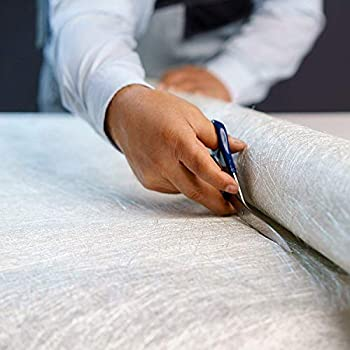 Fiberglass Cloth Roll - Chopped Strand Mat 50  x 360  1.5 Oz - Resin & Epoxy Compatible - E-Glass Fiber Glass Sheet CSM GRP for Molding Casting Roofing Boat Marine Repair