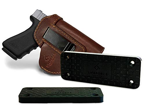 LifeForce Tactical IWB Leather Holster & Gun Magnet Combo |...