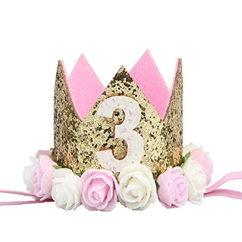Fangfeen Partido Flor niña cumpleaños