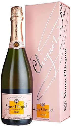 Veuve Clicquot Rosé Champagner mit Geschenkverpackung (1 x 0.75 l)