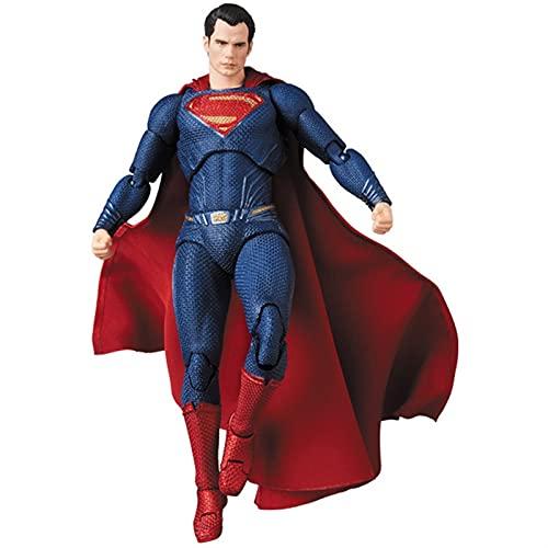 Yongpeng Action figures Superman Justice League Super Man Action Figure Collection Model Toys ( Color : No retail box )