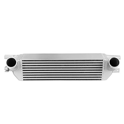 DNA Motoring BOITCL-FM15-T1-SL Aluminum FMIC Front Mount Bar & Plate Core Intercooler
