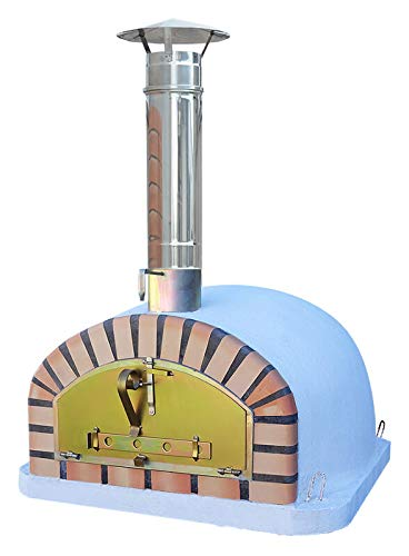 Outdoor Brick Pizza Oven 90 x 90cm Italian Wood Fired Pizza Oven