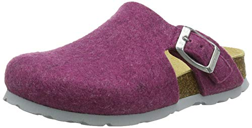 Superfit Mädchen Fussbettpantoffel Pantoffeln, Pink (Rosa 55), 37 EU