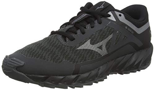Mizuno Wave Ibuki 3 GTX, Zapatillas para Carreras de montaña Mujer, Dshadow/Mettalicgray/Blk, 42 EU