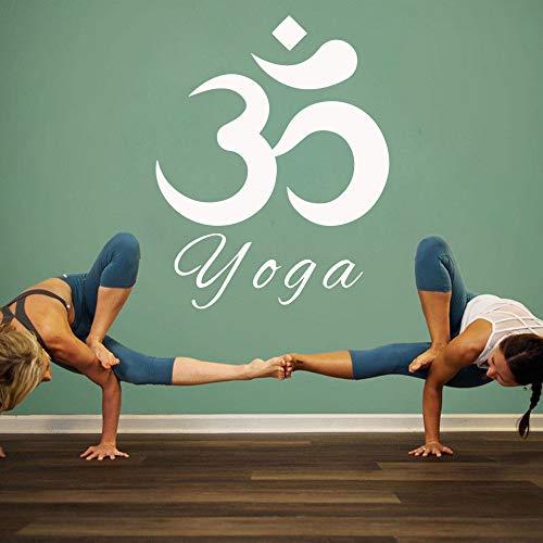 N\A Yoga Moderno Decoración para el hogar Decoración Moderna Pegatinas de Vinilo Pegatinas de decoración de Habitaciones