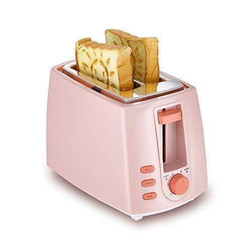 XXY-shop Tostadora EléCtrica, Rebanadas De Desayuno MáQuina De Desayuno AutomáTica para El Hogar Tostada Sandwich MáQuina De Pan De 2 Piezas