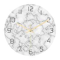 壁掛け時計デザインクリエイティブ3D大理石壁掛け時計モダンデザインリビングルーム装飾ミラーユニークな時計壁掛け時計家の装飾コーヒーショップバーに適したサイレントムーブメント