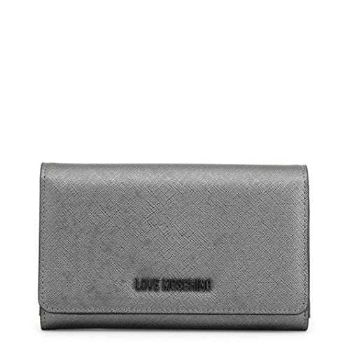 Love Moschino Flap Over Purse in Grey - grey - NOSIZE