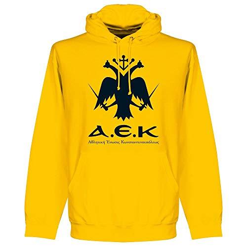 Retake AEK Athens Emblem Hoodie - Yellow - XXL