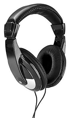 SkyTec SH120 DJ Headphones with 6.35 mm Jack Adaptor