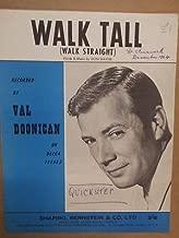 song sheet WALK TALL Val Doonican 1964