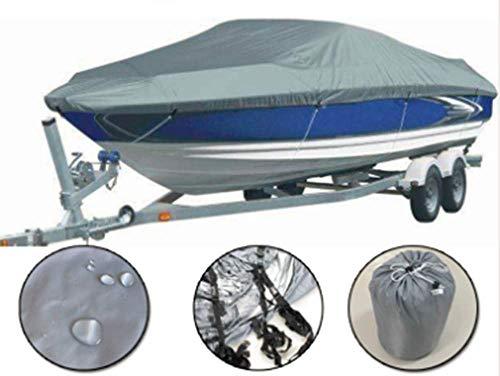 Mitef - Funda impermeable para barco, color gris - GFSWBC13UK, 11-13FT-V, Gris