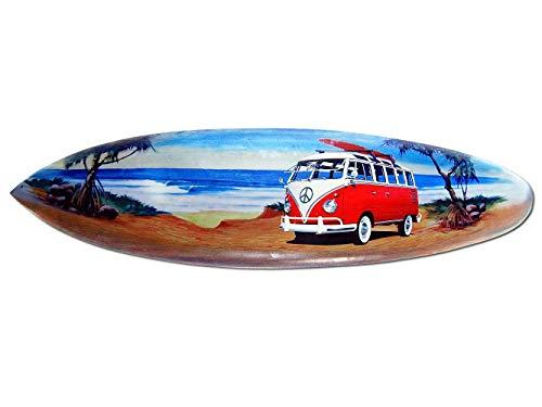 Seestern Sportswear Deko Holz Surfboard 50 cm lang Airbrush Design Surfing Surfen Wellenreiten Surf /FBA_1863