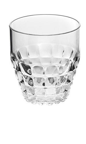 Guzzini Bicchiere Basso Tiffany, Trasparente, Ø8.5 x h9.5 cm