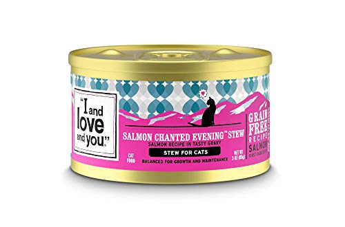 I And Love And You Salmon Chanted Evening Stew wet cat food