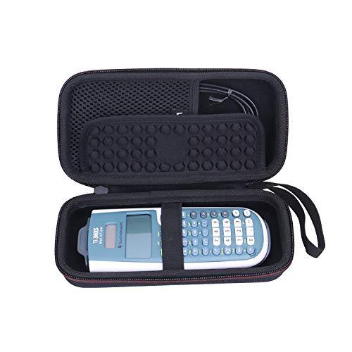 LTGEM EVA Hard Carrying Case for Texas Instruments TI-30XS / TI-36X Pro Engineering Multiview Scientific Calculator - Black