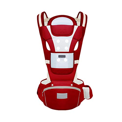 Multifonctionnel Porte-bébé Siège pour bébé Sac à Dos pour bébé 0-36 Mois Stockage en Coton Respirant ( Color : A )