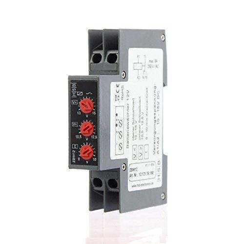 Offgridtec© Spannungsüberwachung 12V - Tiefenentladeschutz Überspannungsschutz