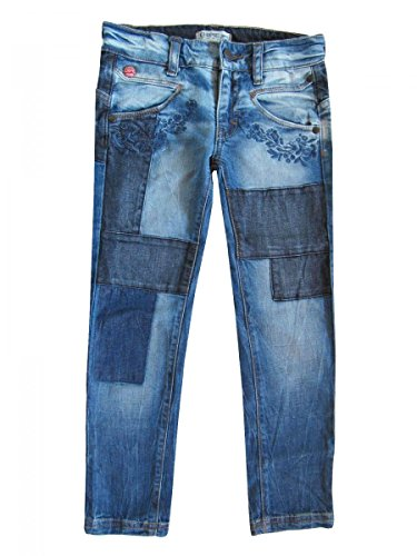 Chipie-jeans denim stretch blauw stoned
