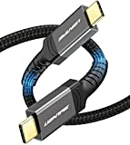Uzanpie Certified USB4 Cable 0.8m, 40Gbps 100W 20V/5A USB4 Gen3 Compatible with Thunderbolt 4 3, Updated Thunderbolt 3 Cable Support 5K or 4Kx2K 60HZ for Pixel, MacBook, eGpu, Docking, Hub, Dell