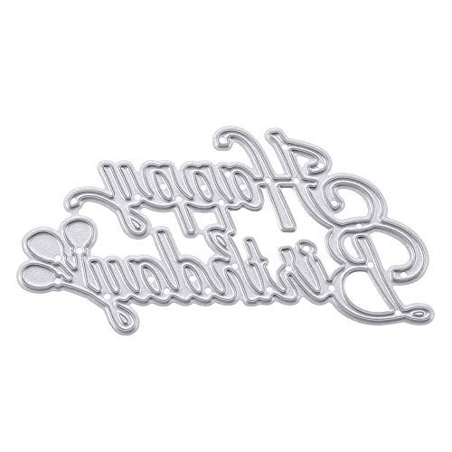 DIY Tarjeta en relieve Fabricación de papel decorativo Troqueles Scrapbooking Cumpleaños DIY Metal Scrapbook Craft Bordado Arte Troquelado Plantillas de regalo