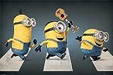 Minions Abbey Road Poster. Offiziell lizenziert