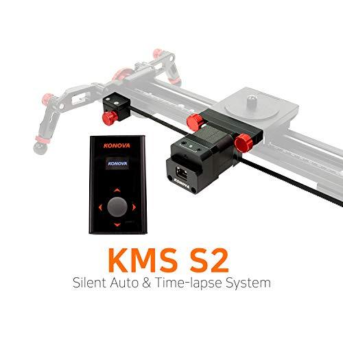 KONOVA New Motorized System S2 for Live Motion and Timelapse Compatible with All Konova Sliders