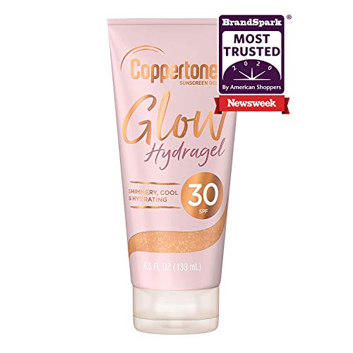 Coppertone Glow Sunscreen Lotion with Shimmer SPF 30
