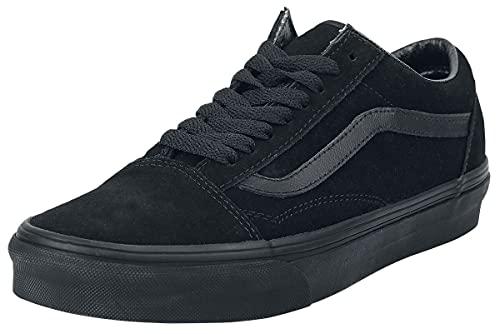 Vans Old Skool, Zapatillas de Entrenamiento Unisex Adulto, Negro (Suede Black/Black/Black Nri), 38 EU