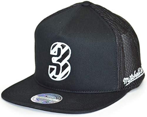 Mitchell & Ness NBA Philadelphia 76ers Allen Iverson Trucker Snapback Cap Black