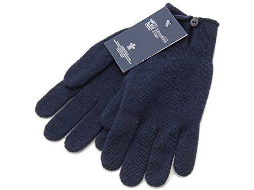 (ジョンストンズ) JOHNSTONS 手袋 HAY2241 SD0707 カシミア100% グローブ ネイビー メンズ レディース [並行輸入品]
