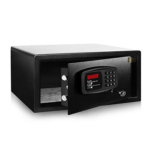 Erru Tresor Möbeltresor Safe Große Sicherheit Safe für 15,6-Zoll-Laptop/Dokumente, Office-Digital-Safe mit Tastensperre/Key, 46x36.5x20 cm