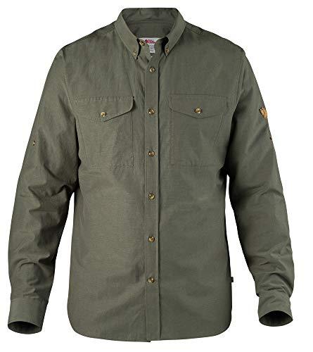 FJÄLLRÄVEN Herren Övik Lite Hemden & T-Shirts, Mountain Grey, S