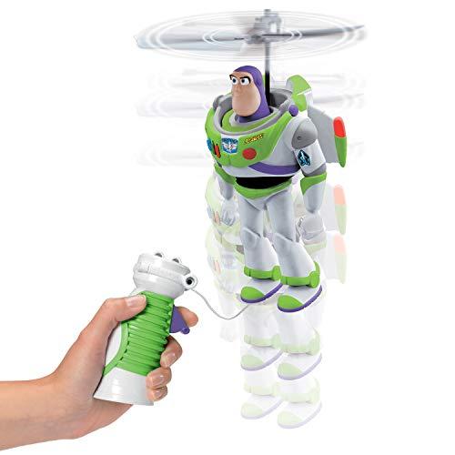 Dickie Toys Toy Story Flying Buzz, fliegender Buzz Lightyear, Spielzeug Toy Story 4, Toy Story Spielzeug mit Steuerung, für Kinder ab 3 Jahren