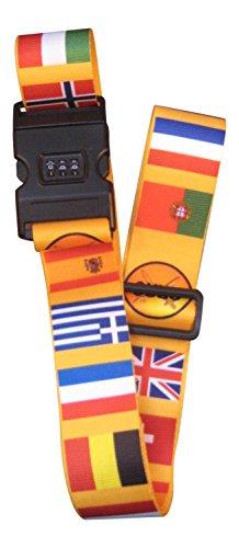 Cinturón de Equipaje con Bandera Internacional (#143)