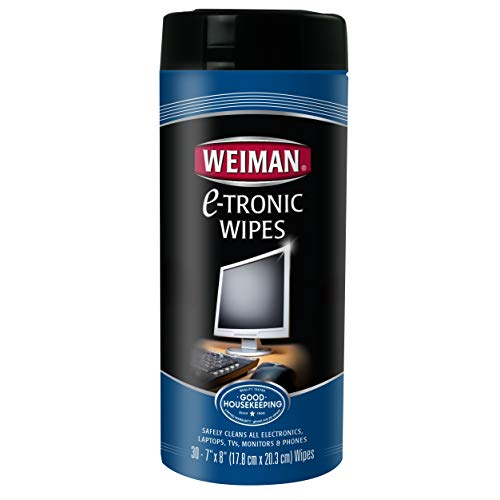 Weiman Electronic Wipes Canister 30 Count (Pack of 2)