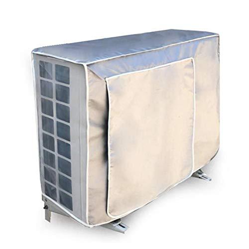 Nrkin - Cubierta impermeable para aire acondicionado exterior (90 x 30 x 60 cm)