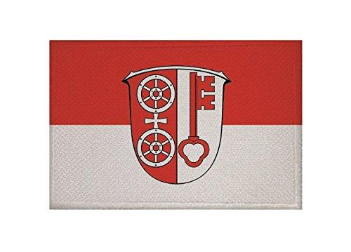 U24 Aufnäher Eltville am Rhein Fahne Flagge Aufbügler Patch 9 x 6 cm