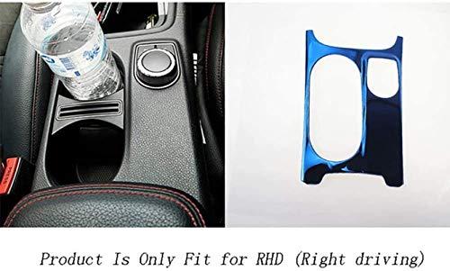 ZFXNB Wasser Getränkehalter Zierblenden Aufkleber Innenraum Rechtslenker Linkslenker Zubehör Für Mercedes Benz A Gla Cla Klasse W176 X156 C117 Car Styling,B-Blue