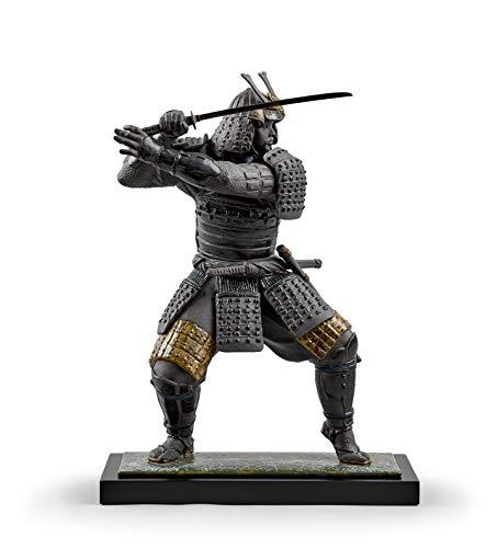 LLADRÓ Figura Guerrero Samurái. Figura Samurai de Porcelana.