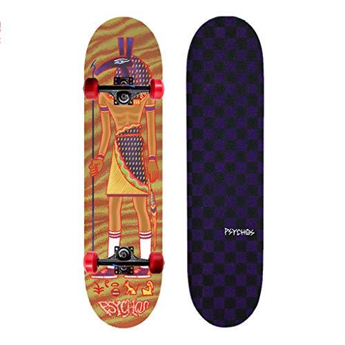 31 ″ Top Skateboards completos Ruedas Profesional Competencia Patinetas para Principiantes Niños...