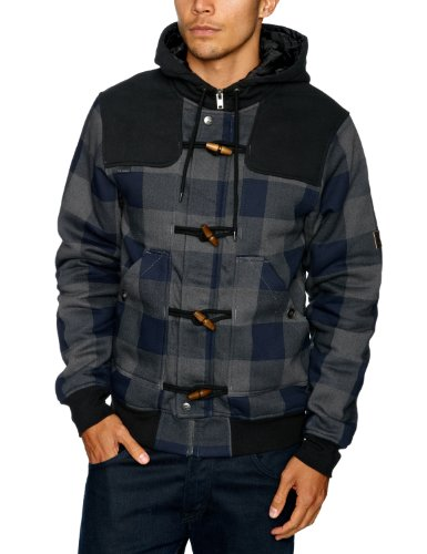 BILLABONG - Sweat-Shirt à Capuche - Homme - Noir (Dark Shade) - FR : S (Taille Fabricant : Small)
