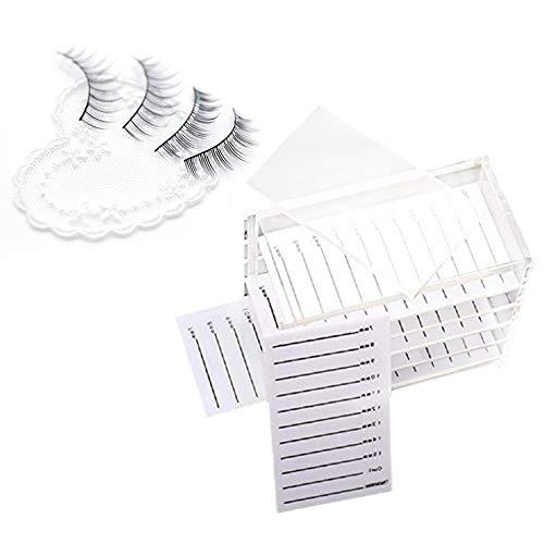 Boîte de Rangement de Cils en Acrylique Transparent Coffret Organisateur pour Cils 5 Couches pour Femmes