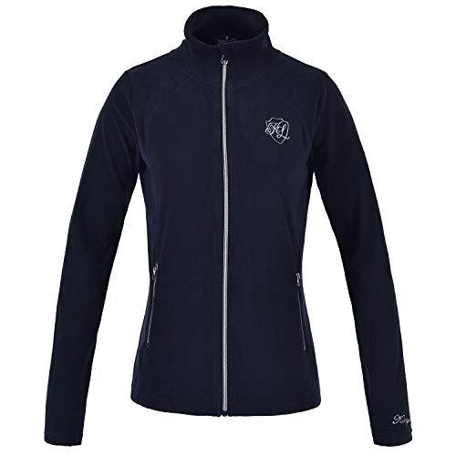 Kingsland Damen Mikrofleece Jacke Hazel Größe XL, Farbe Navy