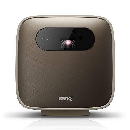 BenQ モバイルプロジェクター GS2 LED光源 500lm 解像度1280x720 AndroidベースOS内蔵 ワイヤレス 無線LAN ...