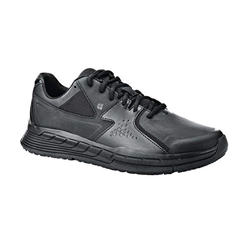 Shoes for Crews 28777 Rutschhemmende Schuhe, Federleicht, Schwarz, 42 EU