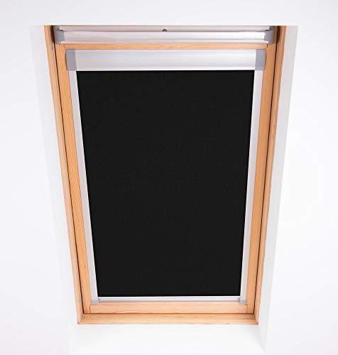 Bloc Skylight Rollo Für Velux Dachfenster Blockout, schwarz, F06