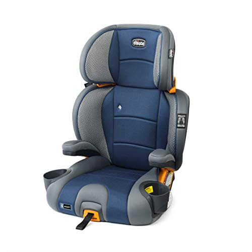 Chicco KidFit Adapt Plus 2 in 1 Belt Positioning Booster Car Seat, Vapor
